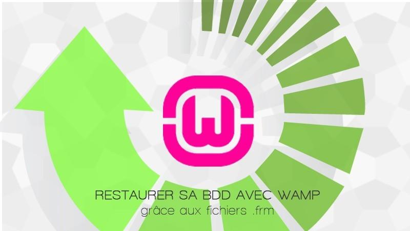 restaurer-BDD-Wamp-frm