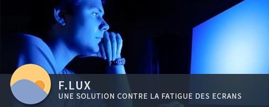 f.lux - une solution contre la fatigue des écrans