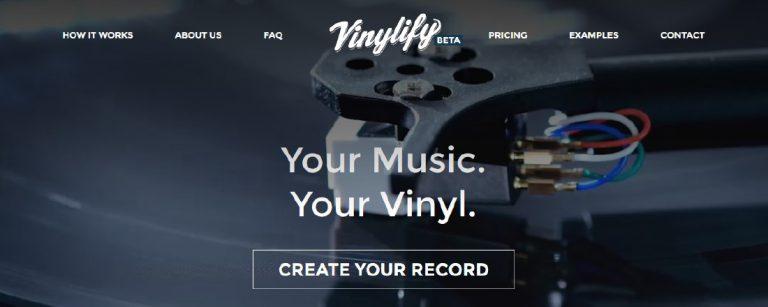 Vinylify - Création de vinyle personnalisés