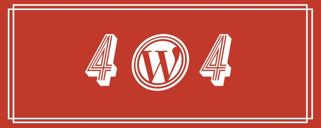 Résoudre l'erreur 404 des articles WordPress