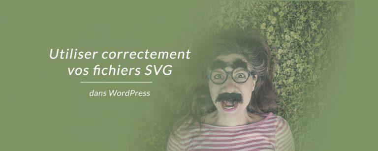 Utiliser les fichiers SVG dans Wordpress