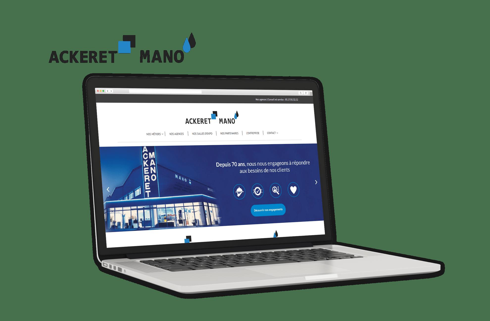 Site Internet Ackeret-Mano