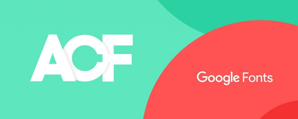 Ajouter Google Fonts dans Advanced Custom Fields - ACF