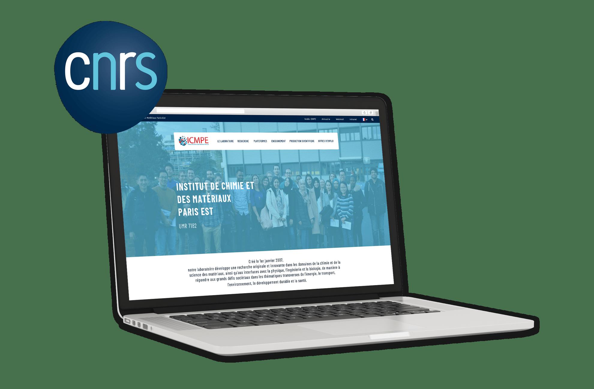 Site Internet ICMPE CNRS