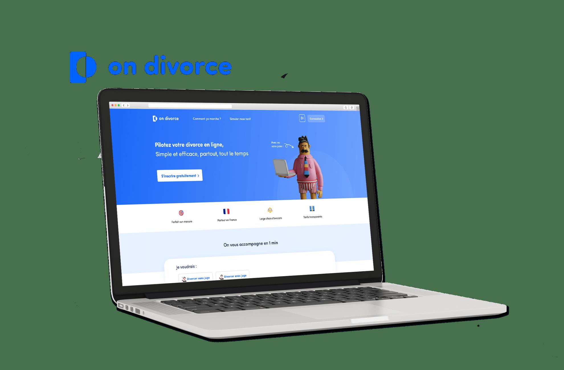 Site Internet On Divorce version 4