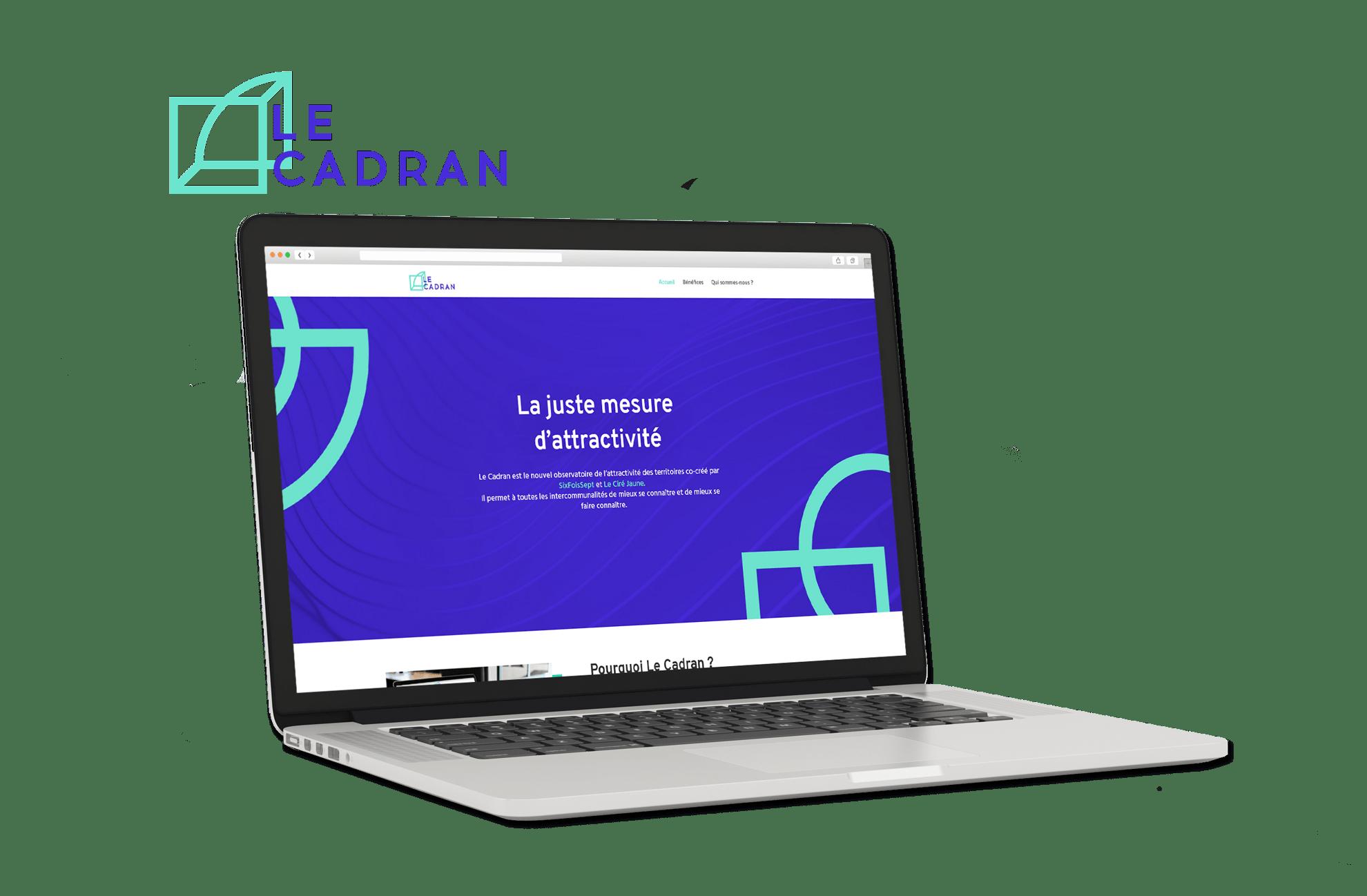 Site Internet Le Cadran sur WordPress