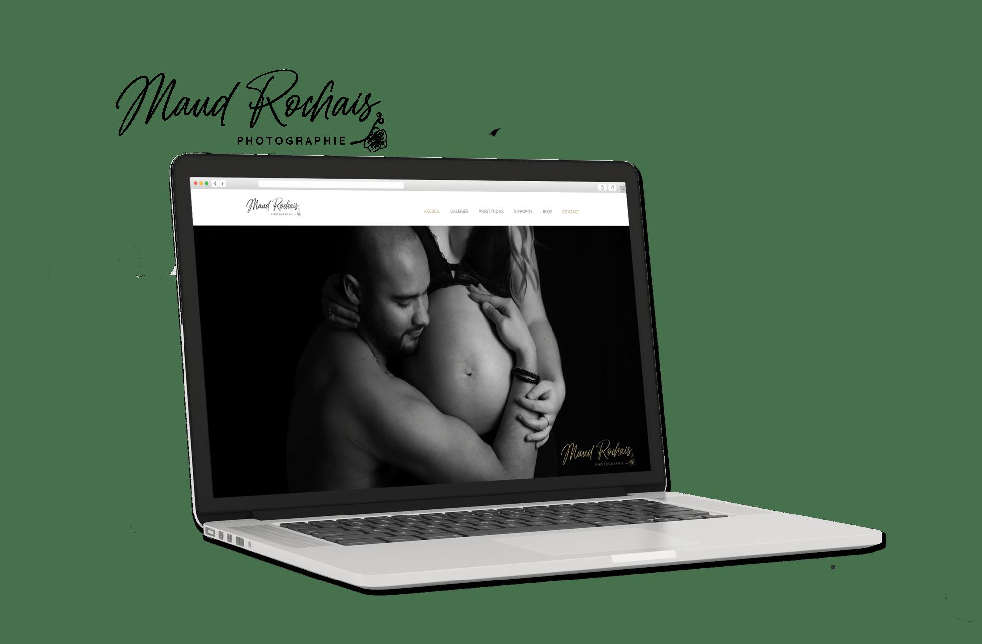 Site Internet Maud Rochais photographe sur WordPress