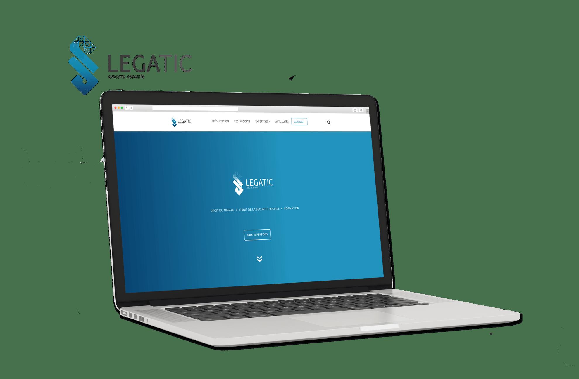 Site internet Cabinet LEGATIC avocats Bordeaux